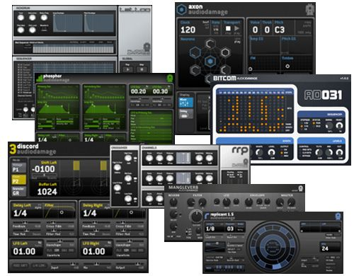 Audio Damage Plugins Pack 2015.09.28 MacOSX